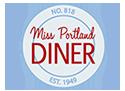 Miss Portland Diner Logo
